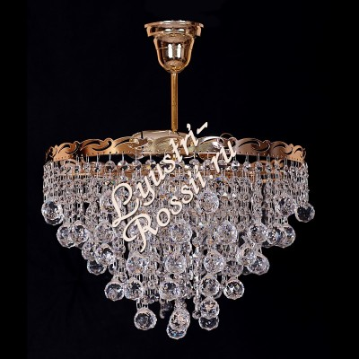 Капель 3 лампы Шары с подвесом