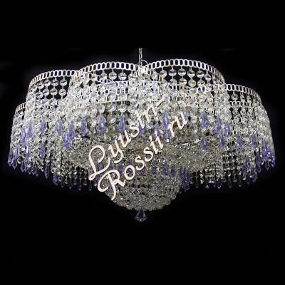 Лотос Перо 6 ламп с зеркалом